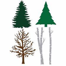 Trees, Steel Dies Set & Magnetic Storage Binder LITTLE B - New, 102278