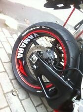 Wheel Sticker For YAMAHA R1 Front Rear Wheel Wide Rim Stripes Full Set