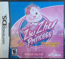 Magical Zhu Zhu Princess Carriages & Castles (Nintendo DS, 2011) NEW & SEALED