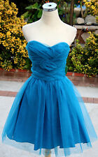 NWT MASQUERADE $100 TEAL Juniors Prom Party Dress 5