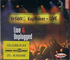 Live & Unplugged Various Artists 24 carati Zounds ORO CD NUOVO OVP SEALED