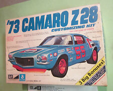 MPC 1973 Chevy Camaro Z28 Annual 3-in-1 Builtup Grand Am Road Race w/ Box 73