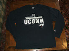 University Connecticut Huskies UCONN 2014 National Champs 2XL Long Sleeve Shirt