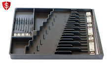 Wrench Organizer Tool Sorter Holder Rack Rail Toolbox Craftsman Snapon Black