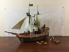 Playmobil Large Pirate Ship With Figures