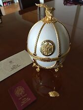 Imperial Collection Vodka Faberge Egg Empty Bottle