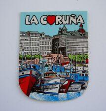 Blason autocollant La Coruña SPAIN sticker héraldique blason wappen coat of arms