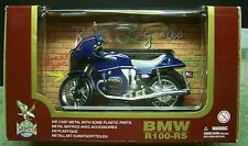 BMW R100-RS 1/12 die cast, ONLY BLUE LEFT! (7461)