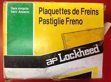 AP LOCKHEED BRAKE PADS TO SUIT PEUGEUT 505 80-88 LP175 PAD496