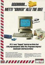 X2530 Computer Compatti AMSTRAD - Pubblicità 1991 - Advertising