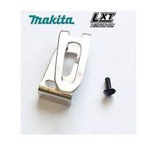 NEW MAKITA 346317-0 BELT HOOK CLIP & M4 X 12 SCREW BTD129 BHP451 BTD146 BHP456
