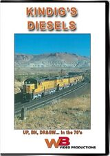 Kindigs Diesels UP BN DRGW in the 70s DVD WB Union Pacific UP DDA40X Centennial