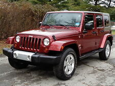 Jeep: Wrangler Unlimited Sahara TRAIL RATED 4WD 4X4 FULLY LOADED!