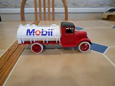 Ertl diecast Mobil Oil new logo #1 1931 Hawkeye oil truck,MINT,stock # 9742UO