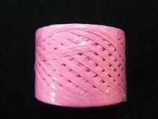 Fuchsia Pink Paper Craft Ribbon RAFFIA WRAPHIA 100 YD  Roll Strong Heavy Duty