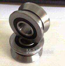 New 10pcs V Groove 8*30*14mm Track Roller Guide Vgroove Sealed Ball Bearing