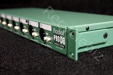 NEW! Radial Engineering ProD8 Eight Channel Rackmount Passive Direct DI Box