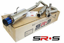 SRS 05-08 CHEVY COBALT SS SUPER CHARGE CATBACK EXHAUST 2.0L / 2.4L BURNT TIP