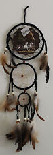 """Mandela Native American 6"""" Horse Dream Catcher Feathers Wall hanging  Picture"""