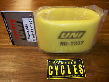 Kawasaki F7 175 Air filter  UNI  with Mesh Screen NU-2307 1973 - 1975 Enduro