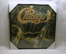 """CHICAGO Framed Album Cover / Jacket """"Chicago 13"""" 12x12 Wall Decor Classic Rock"""