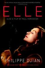 ELLE by Philippe Djian 2017 ARC Uncorrected Proof