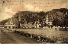 Dinant Namur Wallonien Belgien Belgique 1908 La Citadelle Festung Pont Brücke
