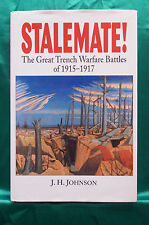 Stalemate! - Great Trench Warfare Battles of 1915-1917 - Hardbound - Free Ship
