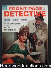 """Front Page Detective? July 1963"