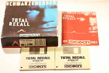 RARE TOTAL RECALL  ATARI ST GAME BY OCEAN  BIG BOX GAME 1990