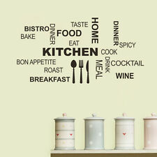 KITCHEN Quote wall sticker Kitchen Tools Design wall decal  Kitchen Wall Décor
