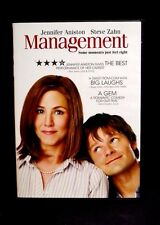 MANAGEMENT DVD 2009 RATED R COMEDY JENNIFER ANISTON  RUNS 93 MIN