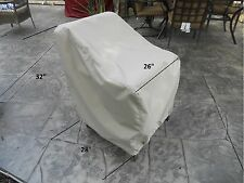 "Patio furniture cover - individual chair | 26""w x 28""d x 32""h 