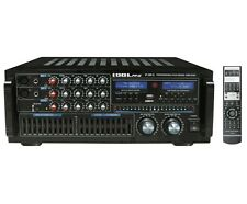IDOLPRO IP-388 II 1400W KARAOKE Amplifier with Equalizer, Bluetooth, & Recorder
