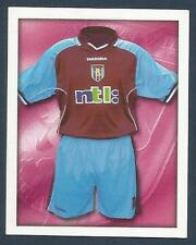 MERLIN-2001-F.A.PREMIER LEAGUE- #025-ASTON VILLA HOME KIT