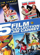 5 Film Collection: Jim Carrey (Ace Ventura: Pet Detective; Dumb and Dumber; Mask