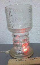 LORD OF THE RINGS Fellowship, Light-Up Glass Chalice Mug Cup, SCRIDER, WORKS