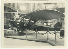 Photo Avion Aviation Plane Vers 1930 #1
