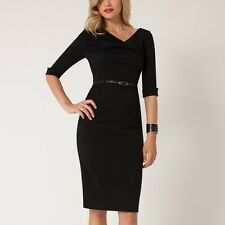 Black Halo Jackie O Elbow Sleeve Dress