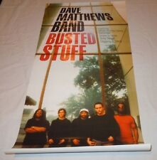 DAVE MATTHEWS BAND~Busted Stuff~15x30~Original Promo Poster~NM Condition~2002
