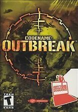 Codename: Outbreak (PC, 2001) FPS shooter team two soldiers disc only 3D code