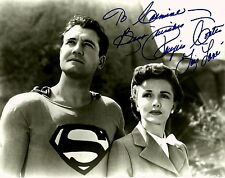 RARE STILL  TV's  SUPERMAN GEORGE REEVES SIGNED BY  COATS