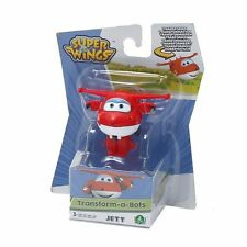 GIOCHI PREZIOSI SUPER WINGS JETT TRANSFORM A BOTS 6 CM ACTION MINI FIGURE NEW