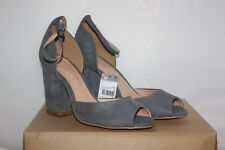 BENETTON - Sandales  Talons bout ouvert  11 cm gris Taille 40 Neuf