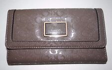 GUESS Women's Taupe Glazed Slg Trifold Wallet Style: S474623 SALE