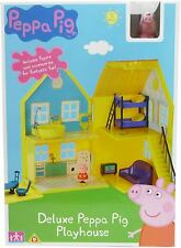 PEPPA PIG Toy Deluxe Playhouse Playset Inc figura e gli accessori Play Set Casa