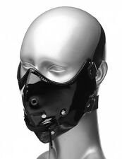 Master Series Lektor Zipper Mouth Muzzle Elastic Bands, Mask For Adults Toy Game