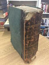 The Holy Bible Vol 1 :Genesis - Esther 1847 Leather Bound