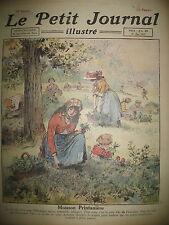 FLEURS 1er MAI MUGUET CUEILLETTE INDE MALABAR BALEINES LE PETIT JOURNAL 1921