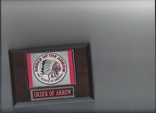 ORDER OF ARROW PLAQUE BSA BOY SCOUTS OF AMERICA PHOTO PLAQUE